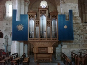 photo orgue Saint-Amant-de-Boixe